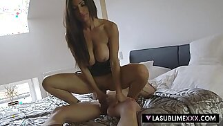 LaSublimeXXX Italian MILF fuck session with young Czech guy