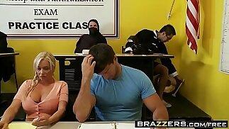 Big Tits at School Jordan Pryce and Ramon Fucking To America