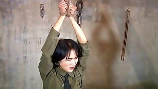 chinese spy girl tickle(tiger stool)